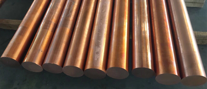 Commercial Copper Round Bars