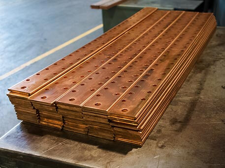 Copper Bus Bars ETP
