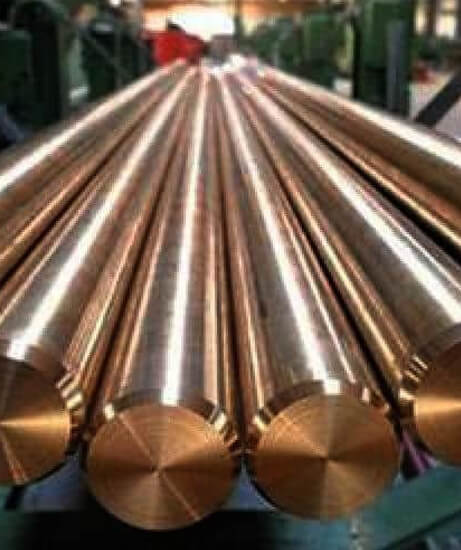 Oxygen Free Copper Round Bars