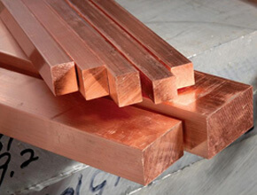 Copper Square Bars