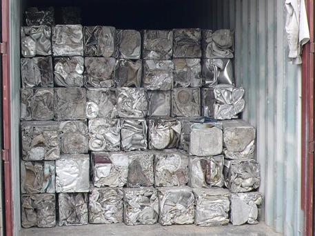 Aluminium Scrap Taint Tabor, Aluminium Taint Tabor Scrap